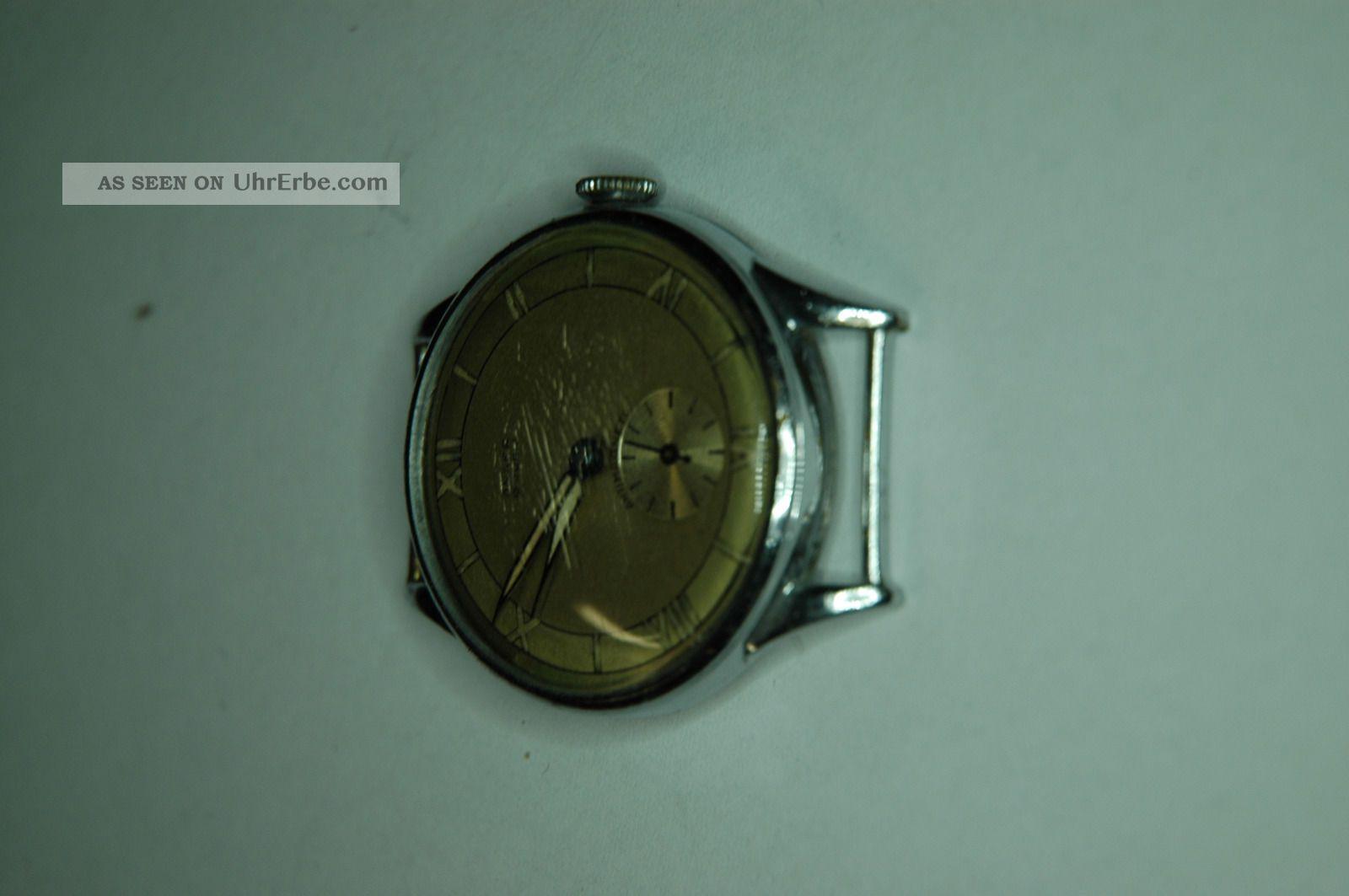 Armbanduhr Der Marke,  Anker,  Oldtimmer,  Jubiläumsuhr Von 1945. Armbanduhren Bild