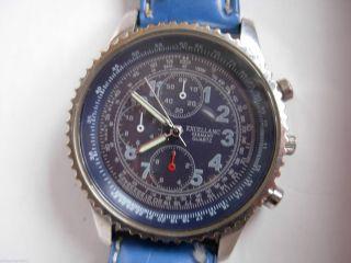 Excellanc Armbanduhr Mit Band Blau Bild