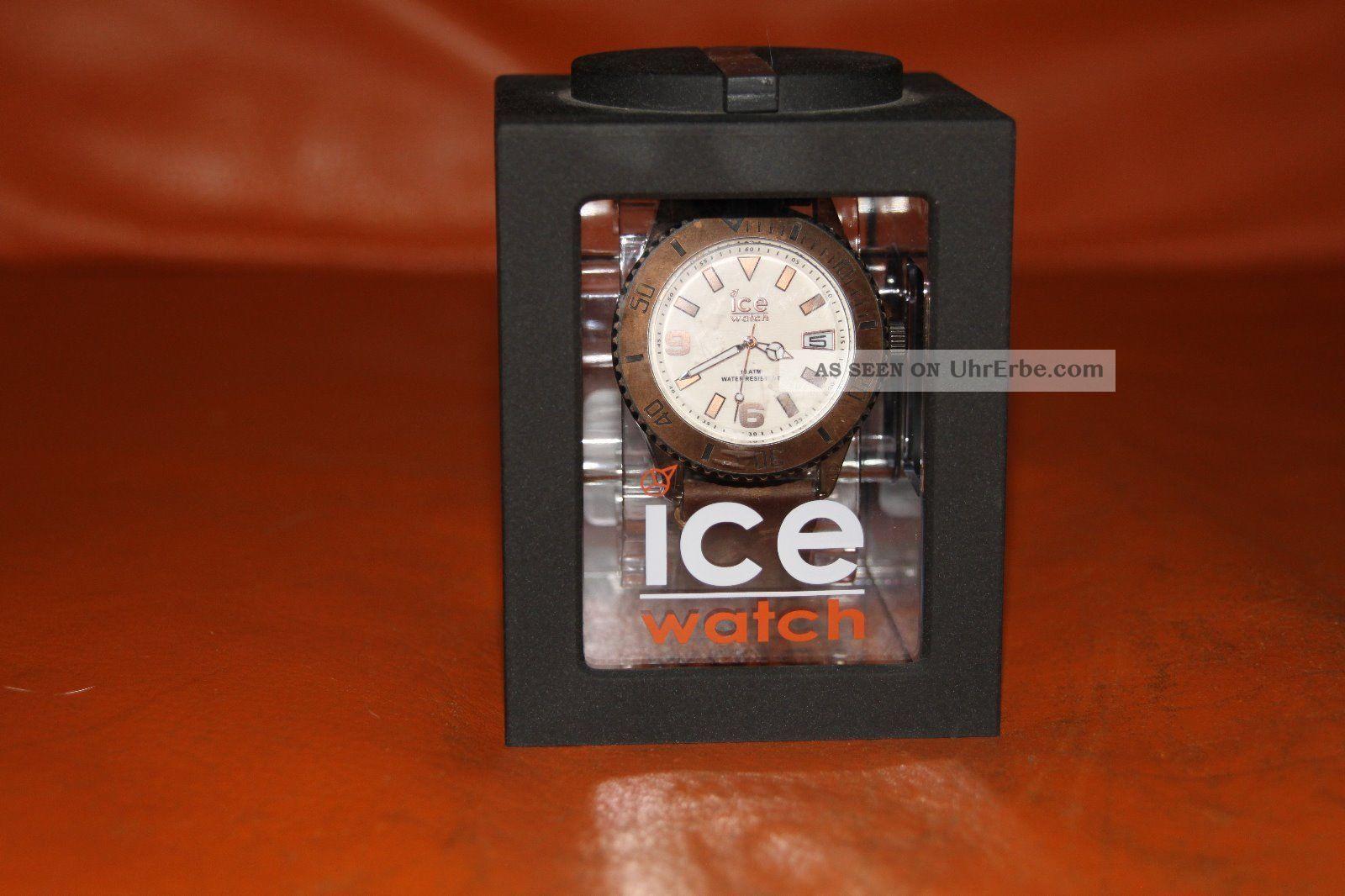 Ice - Watch Ice - Vintage Brown Big Armbanduhren Bild