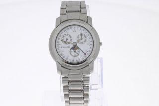 Zenith Armbanduhr Mit Vollkalender Und Mondphase Quartz Bild
