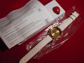 Eternal Love Uhr Damen Armbanduhr Weiß/gold Kristall Strass Uhr Bild
