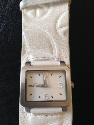 Damen Fossil Uhr Bild