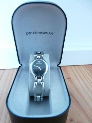 Damenuhr Armbanduhr Emporio Armani Silber Bild