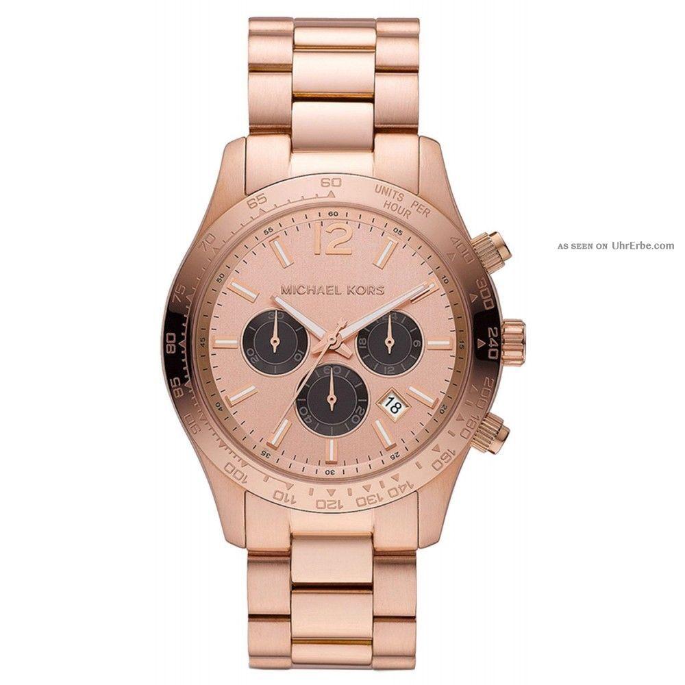 Michael Kors Mk8186 Armbanduhr Für Damen Armbanduhren Bild