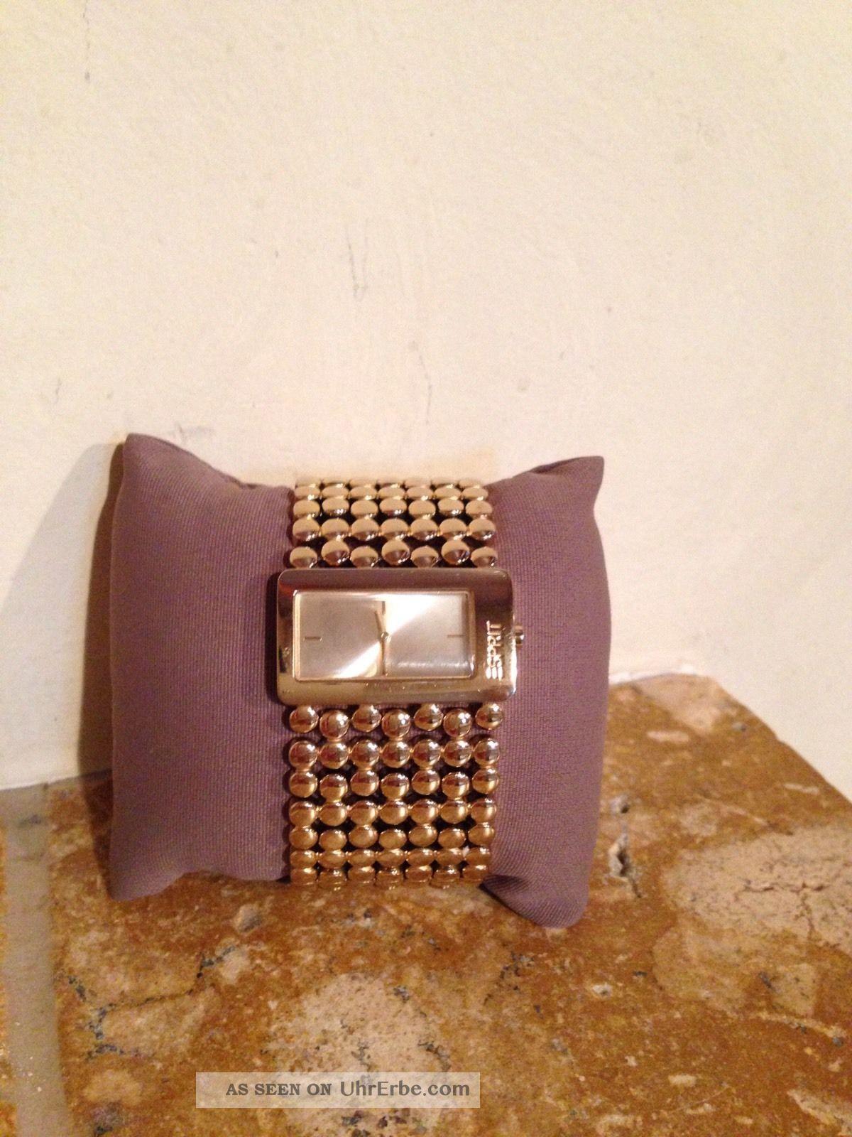 Damen Esprit Uhr Bubble Up Gold Armbanduhren Bild
