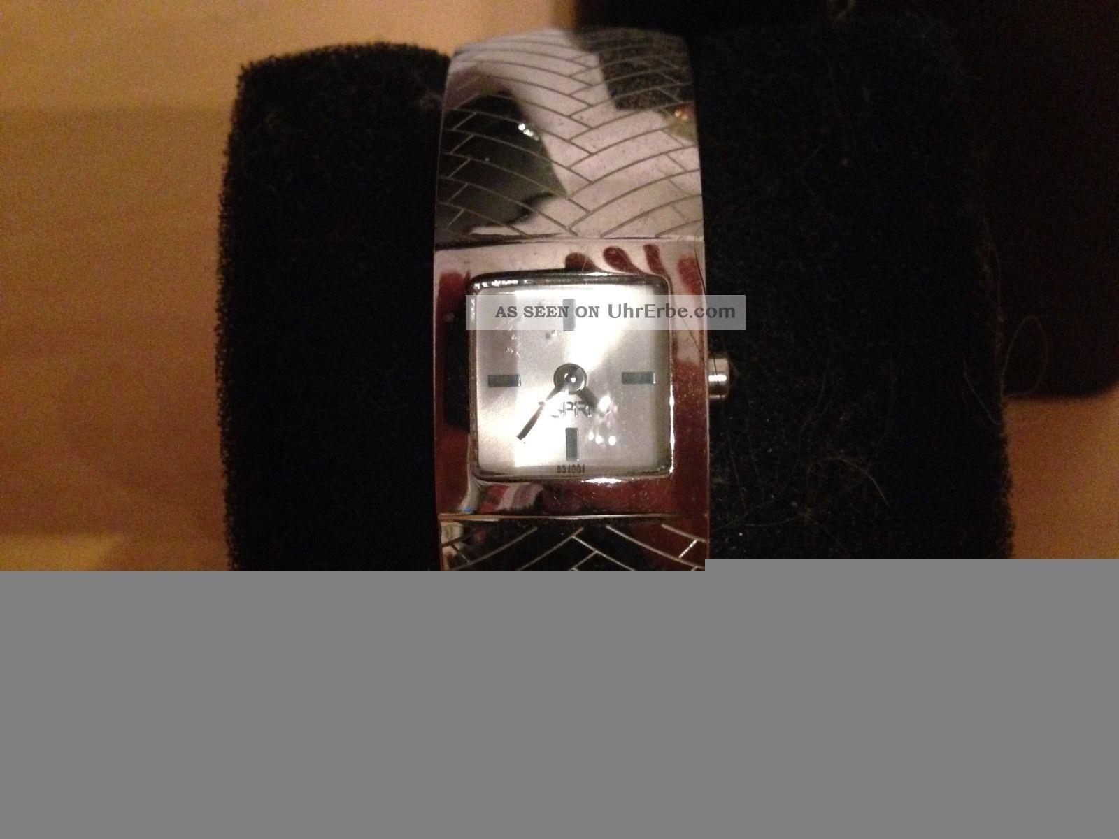 Esprit Damenuhr Silberfarben Armbanduhren Bild