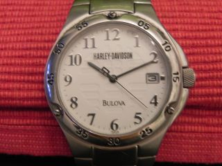 Bulova Klassische Armbanduhr,  Bikeruhr 100 Jahre Harley Davidson Bild