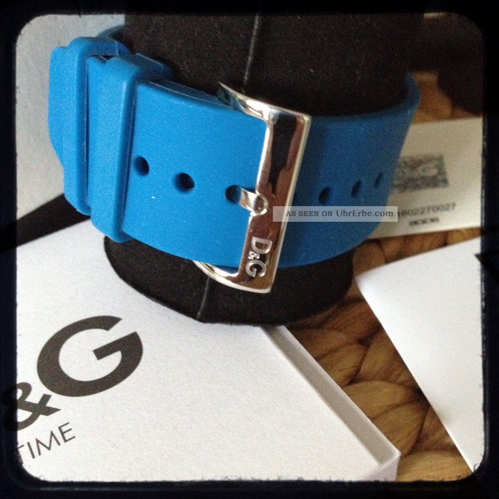 Dolce & Gabbana High Contact Touchscreen Uhr Dw0736 Blau.  Wie Armbanduhren Bild