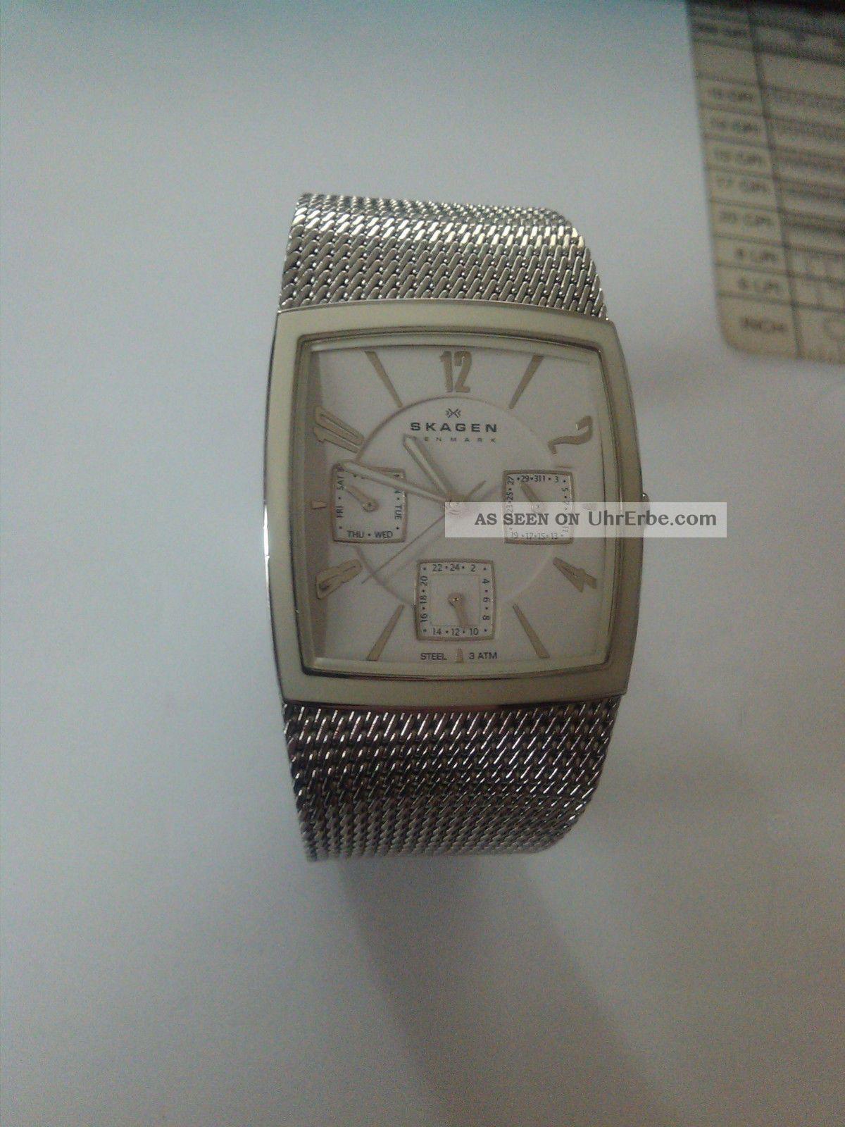 Skagen Damen Armbanduhr Modell 562sssw Armbanduhren Bild