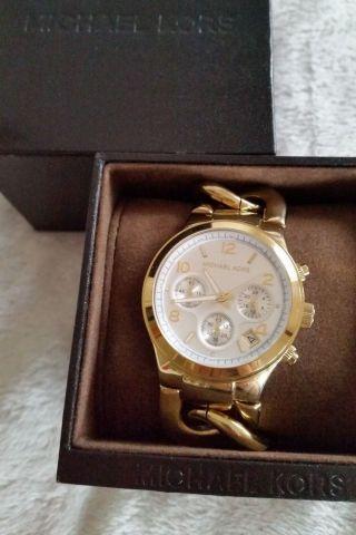 Micheal Kors Uhr Gold Mk3131 Bild