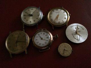 Konvolut Edler Armbanduhren & Werke - Kienzle,  Omega,  Dugena,  Eta 2801 - 2 Bild