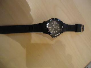 Armbanduhr In Schwarz // Unisex Bild