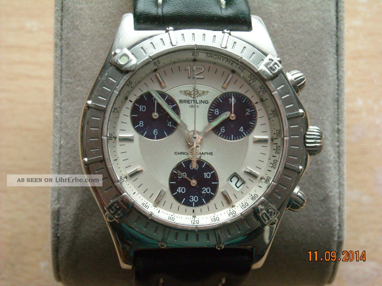 Breitling Chrono Sirius Model A53011 Armbanduhren Bild