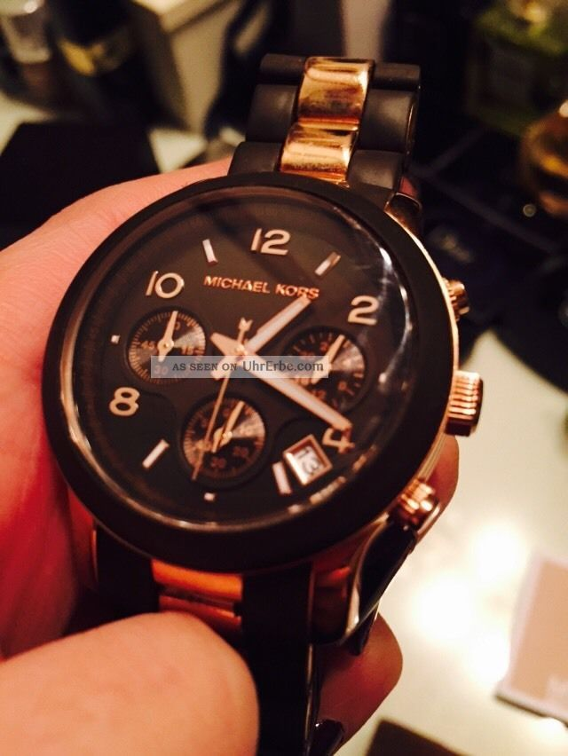 Michael Kors Uhr Ionen Beschichtet Mk8189 Armbanduhr Uhr Armbanduhren Bild