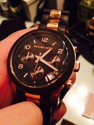 Michael Kors Uhr Ionen Beschichtet Mk8189 Armbanduhr Uhr Bild