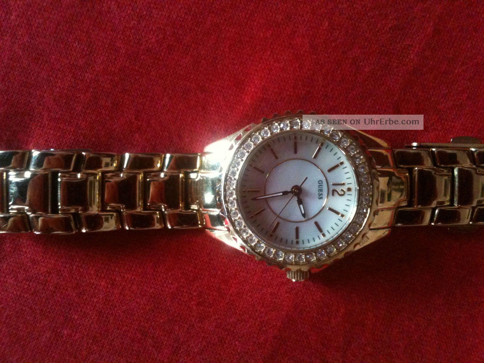 Orginal Guess Damen Armband Uhr Armbanduhren Bild