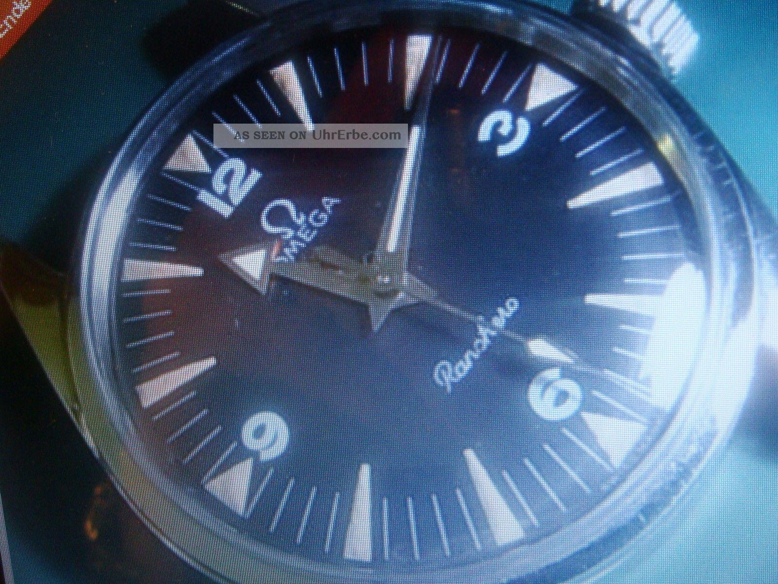 Omega Ranchero Handaufzug Kaliber 285 60iger Jahre Armbanduhren Bild