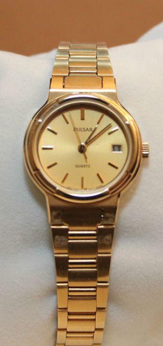 Pulsar,  Damenuhr Armbanduhr Ungetragen Mit Box Bild