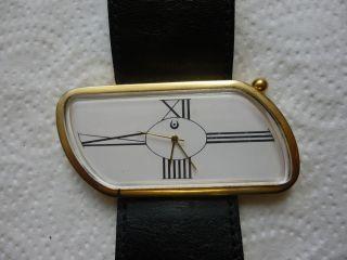 Armbanduhr Aus Papas Sammlung Nr.  28 Unbekannt Funktioniert Batterie Fehlt Bild