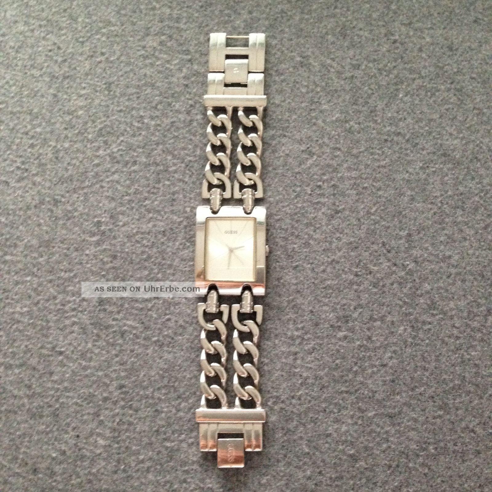 Guess Damen Uhr Aus Edelstahl Armbanduhren Bild