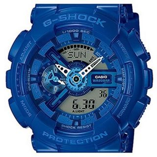 Casio Armbanduhr G - Shock Ga - 110bc - 2aer Blau 5146 Resin Analog Digital Ovp Bild