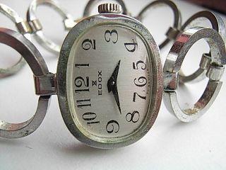 Damen Armbanduhr Edox Swiss Handaufzug Bild