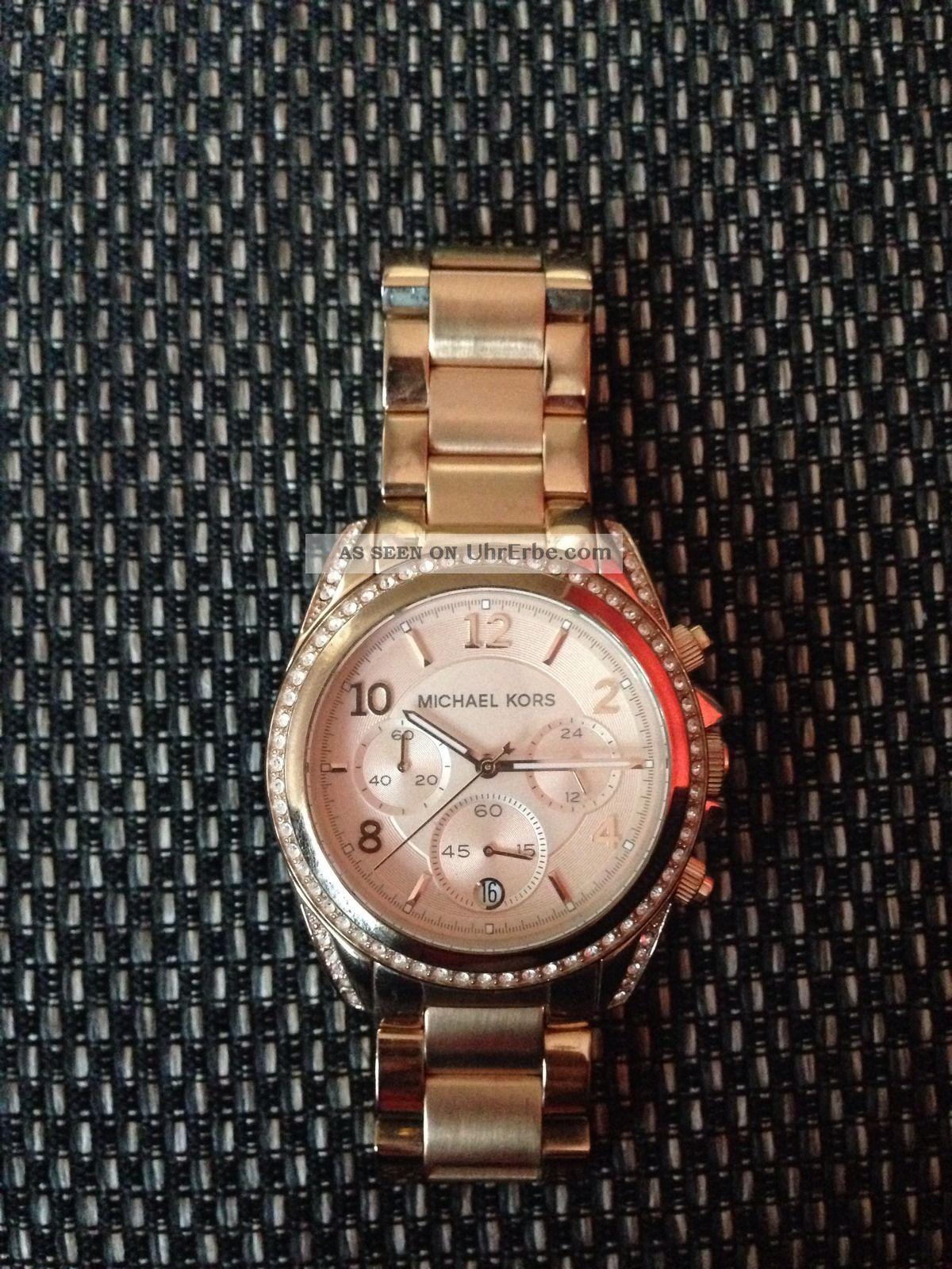 Michael Kors Damenuhr Armbanduhren Bild