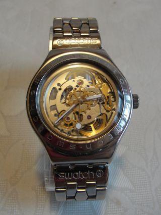 Swatch Irony Automatic Mit Eta 2841 - 1 Edelstahl Bild