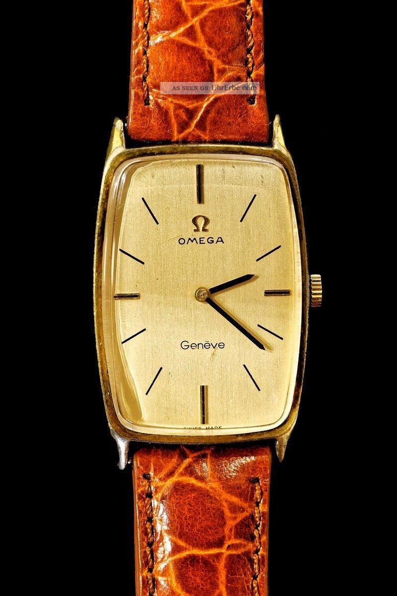 Herrenuhr Omega Geneve Armbanduhren Bild