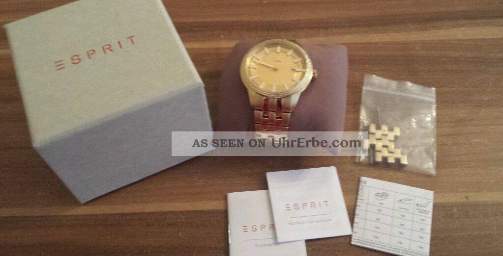 Esprit Damenuhr/unisex/herrenuhr Armbanduhren Bild