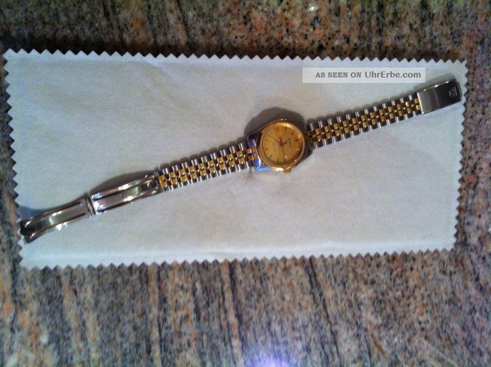 Tissot Pr 100 Armbanduhr Damenuhr Uhr Bicolor Gold Silber Von Christ Armbanduhren Bild
