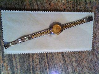 Tissot Pr 100 Armbanduhr Damenuhr Uhr Bicolor Gold Silber Von Christ Bild