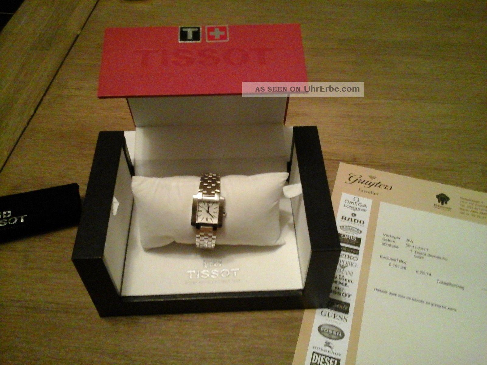 Tissot Damenuhr Armbanduhren Bild