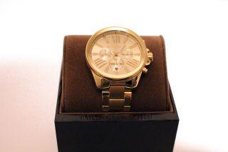 Michael Kors Uhr Mk5711 Neu&ovp Xxl Gold Chronograph Uvp 249,  95 Bild