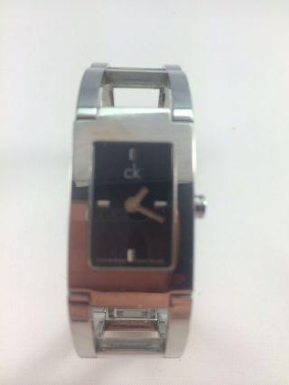 Ck Calvin Klein Damen Uhr Edelstahl Bild