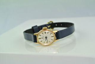 Junghans - 17 Jewels - Handaufzug - Damenarmbanduhr Bild
