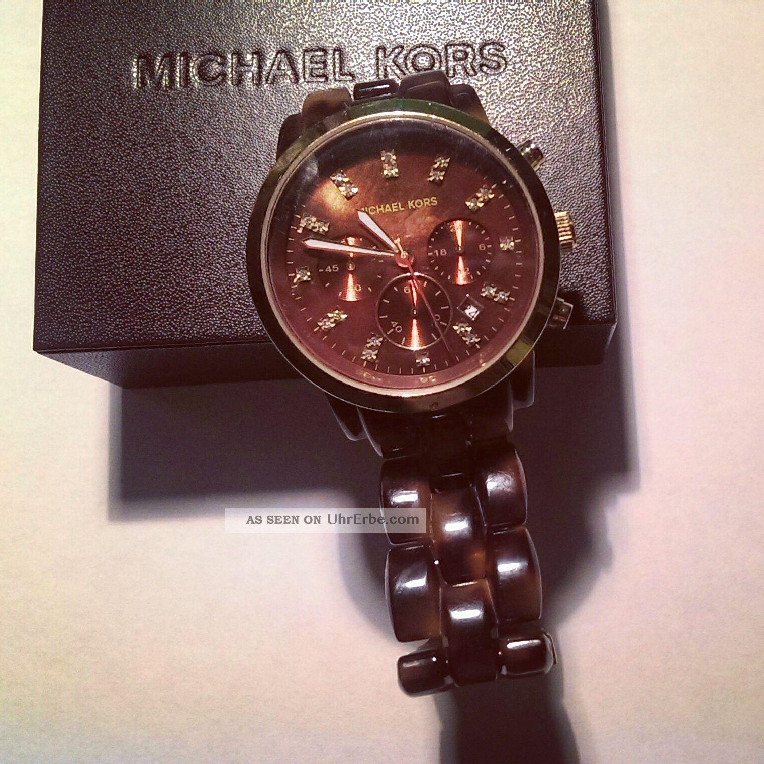 Michael Kors Mk5216 Armbanduhr Für Damen Armbanduhren Bild