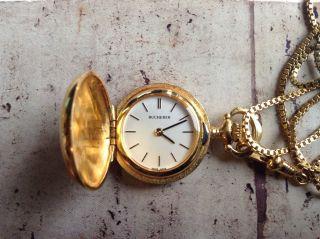 Rar Vintage Bucherer Handaufzug Swiss Armband Uhr Look Bild
