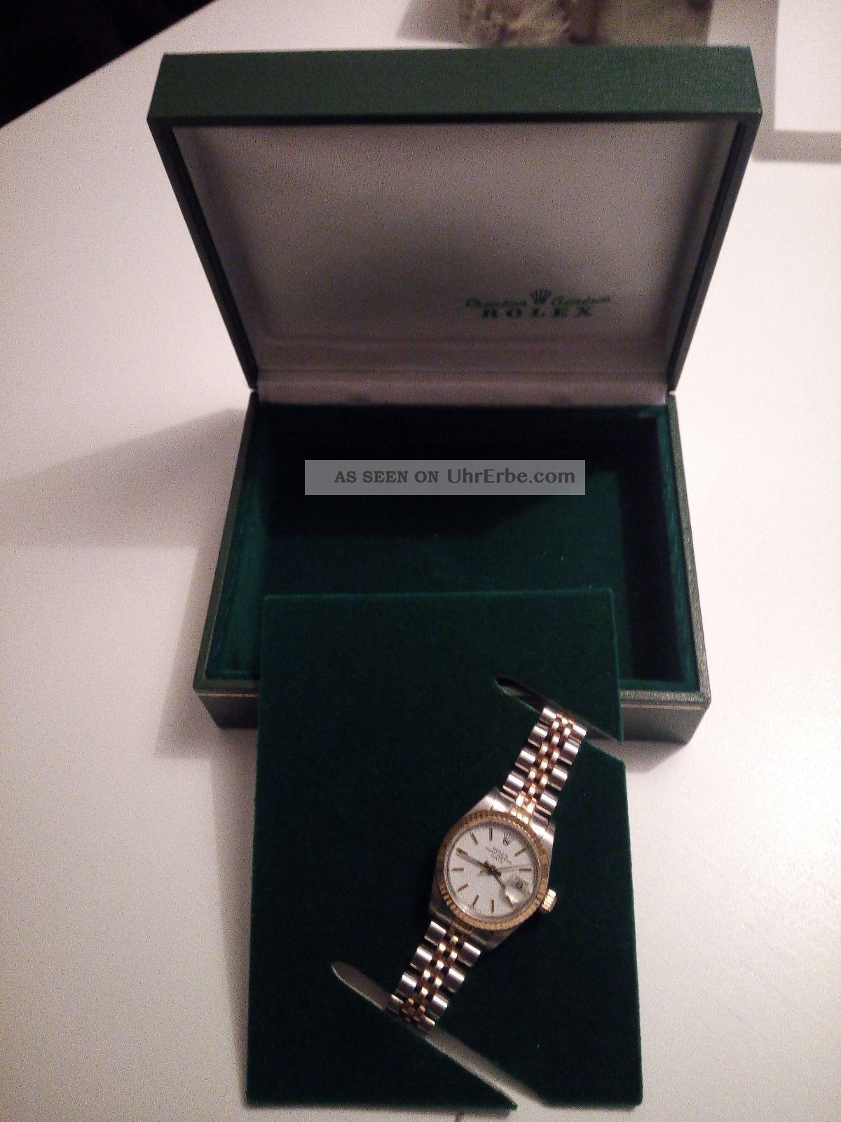 Rolex Oyster Perpetual Date Armbanduhr Armbanduhren Bild