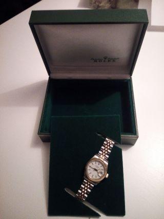 Rolex Oyster Perpetual Date Armbanduhr Bild
