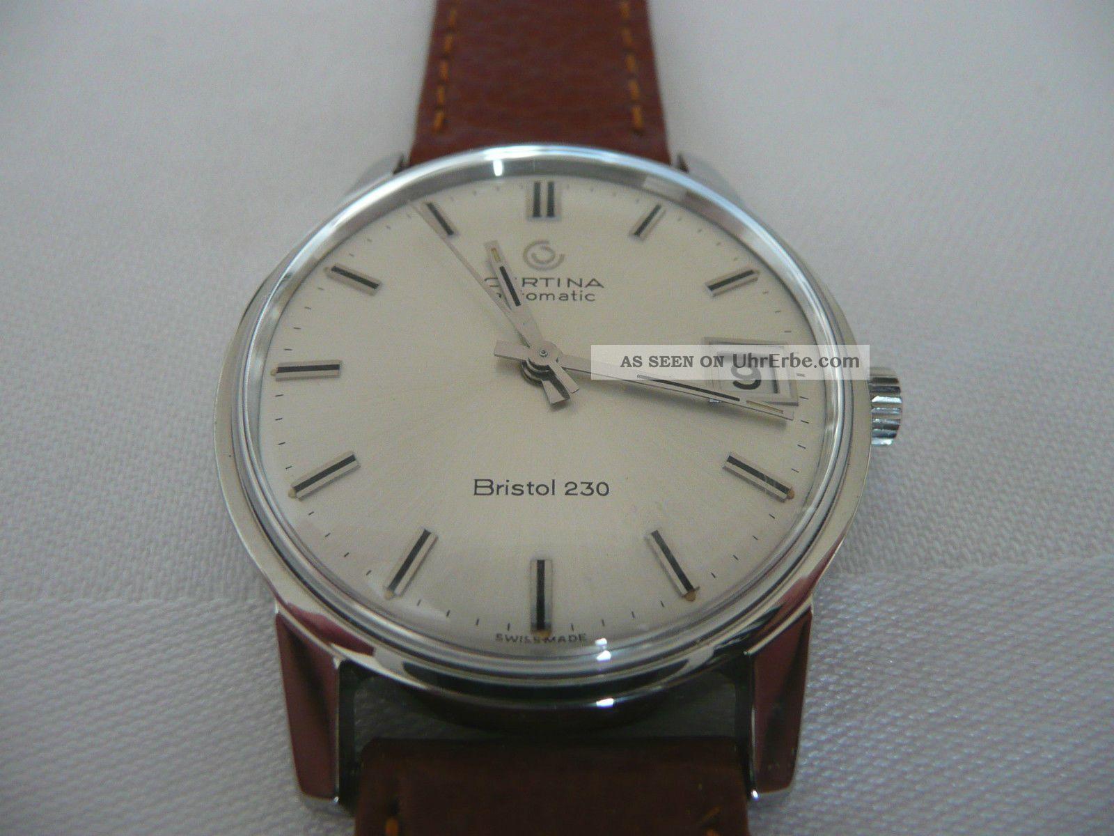 Tolle Certina Bristol 230 Automatik 60er 70er Jahre Armbanduhren Bild