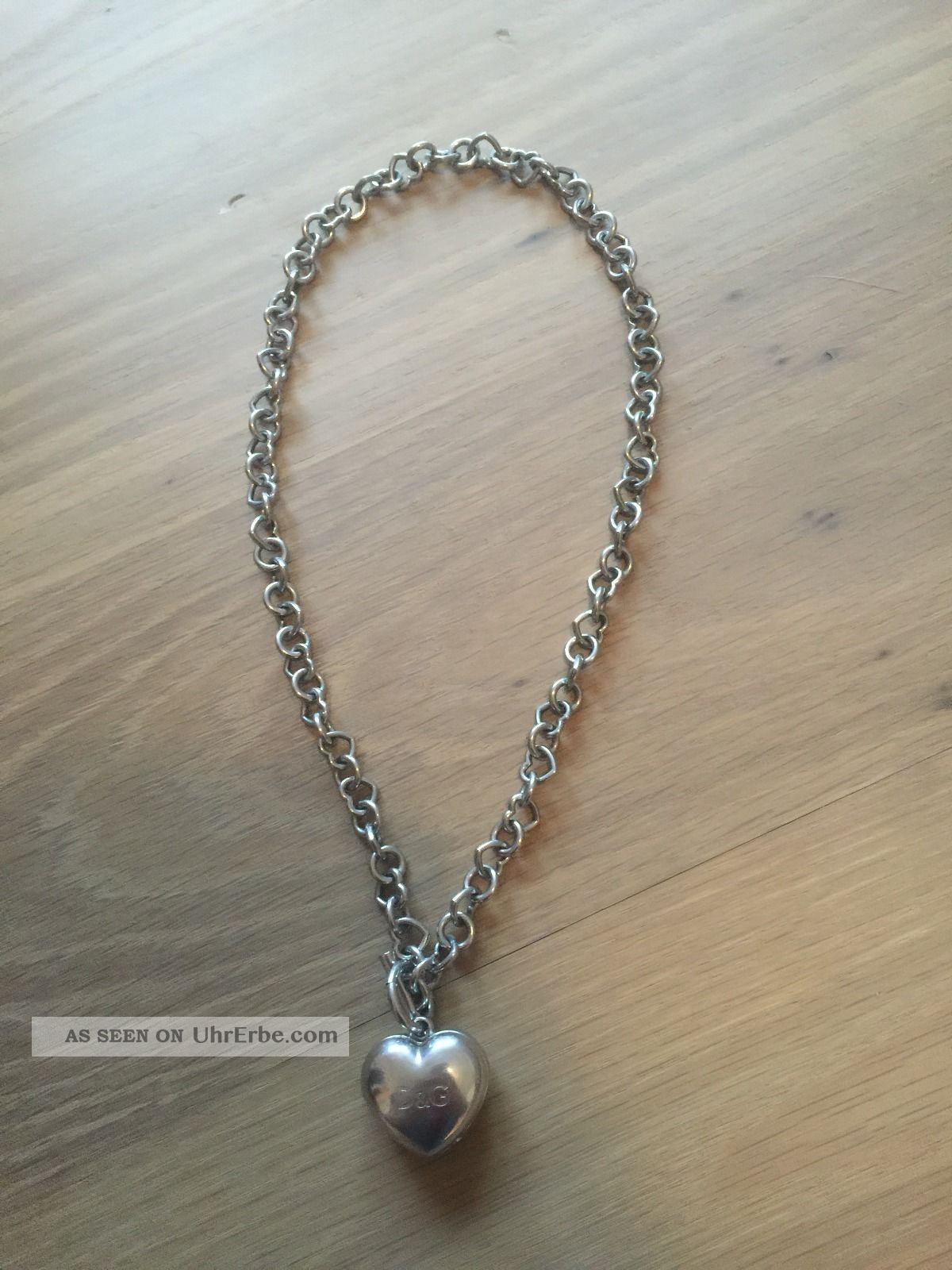 D&g Dolce & Gabbana Kette Mit Uhr / Armbanduhr Für Damen Armbanduhren Bild