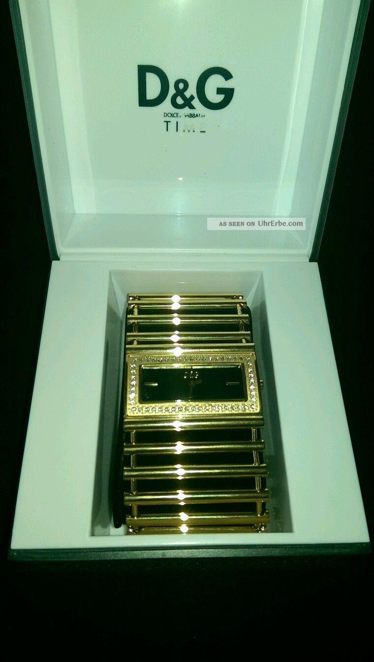 D&g Dolce Gabbana Damenuhr Uvp €249,  - Armbanduhren Bild