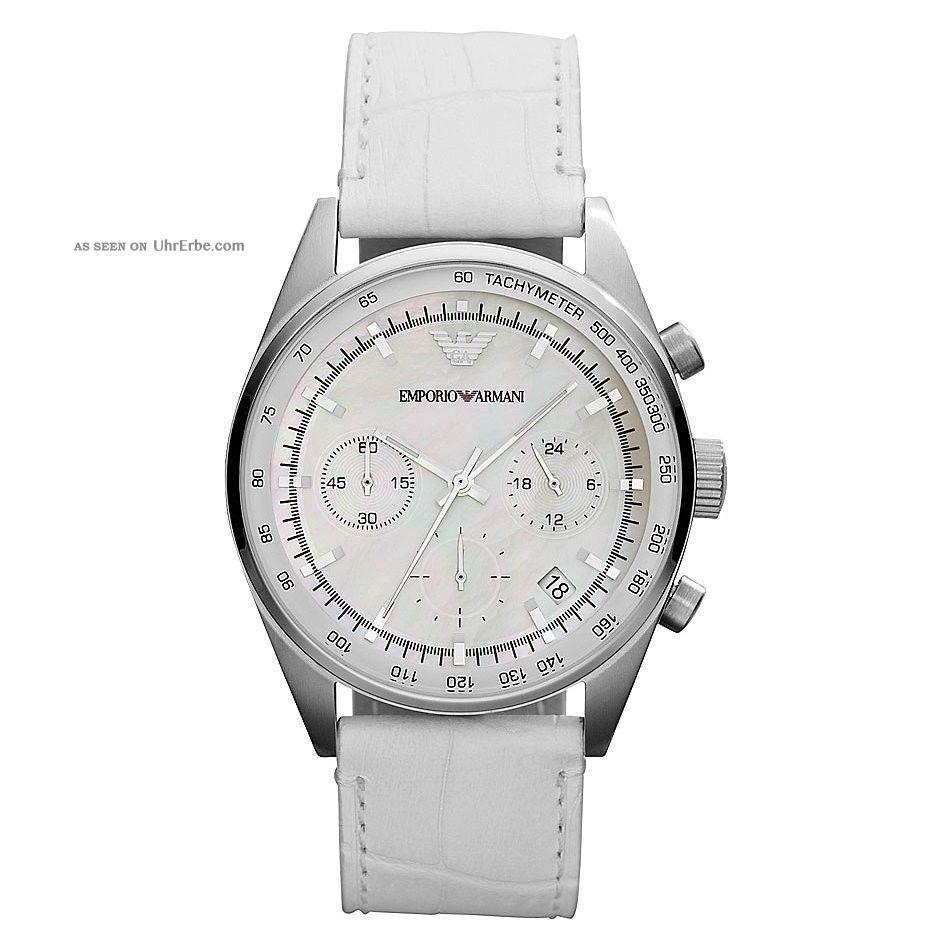 Emporio Armani Damenuhr Chronograph Ar6011 Zum Armbanduhren Bild