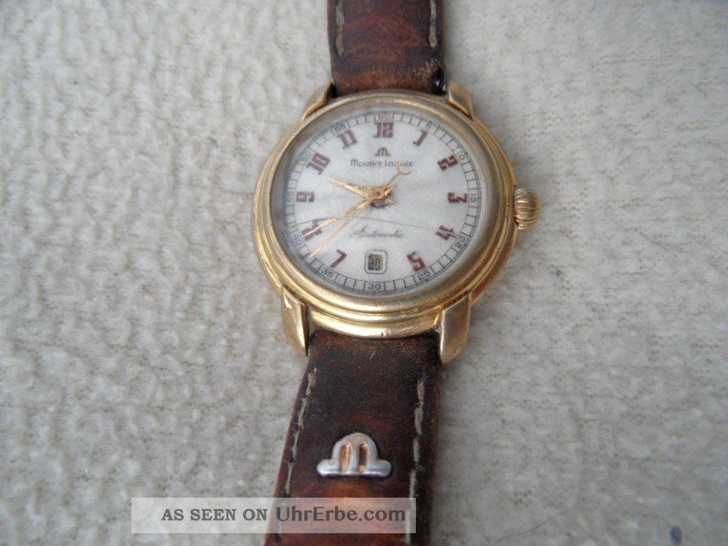 Maurice Lacroix Automatic Automatik Armbanduhren Bild