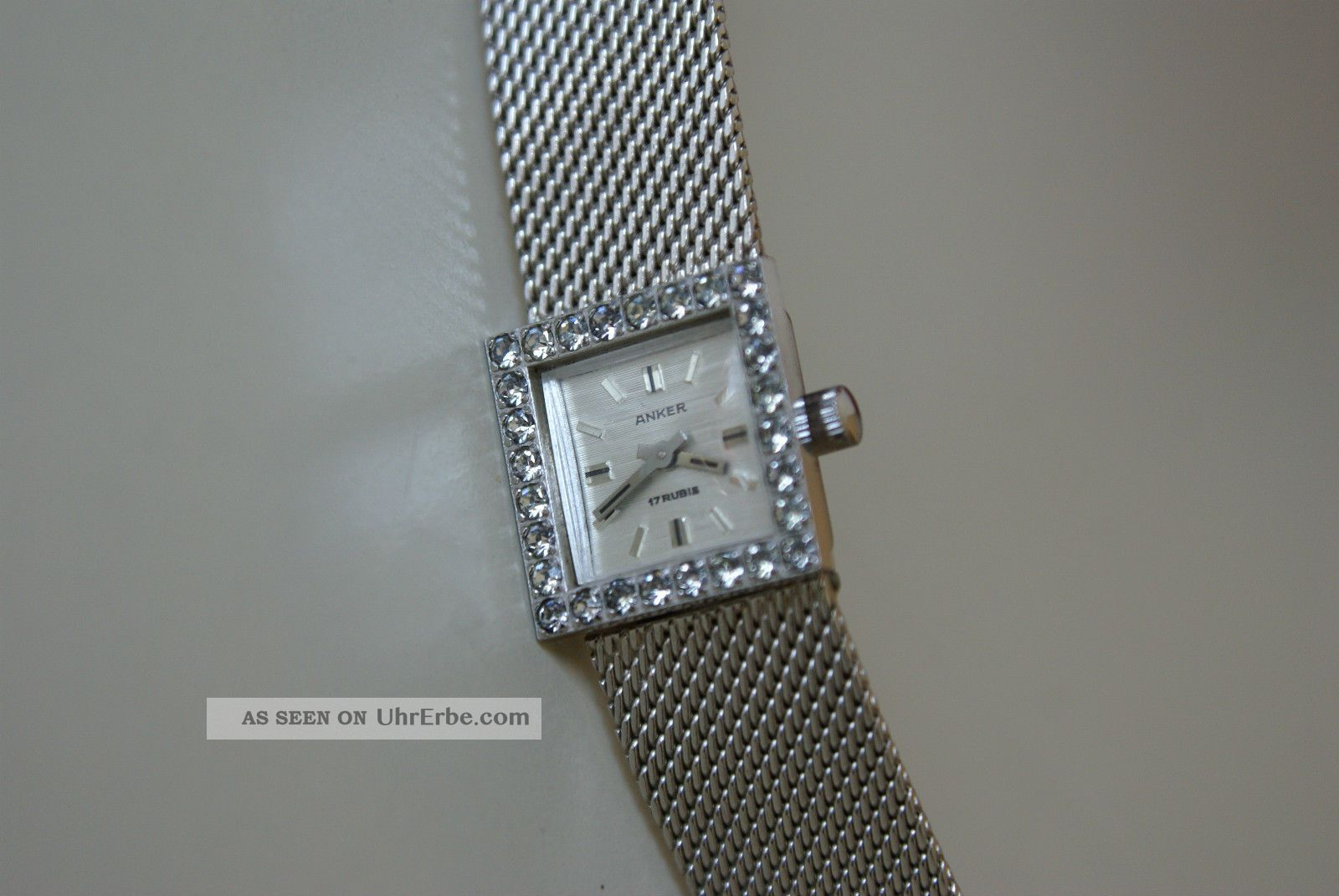 Wunderschöne Anker Damenuhr,  Mechanische Handaufzug,  Läuft Sehr Gut Armbanduhren Bild