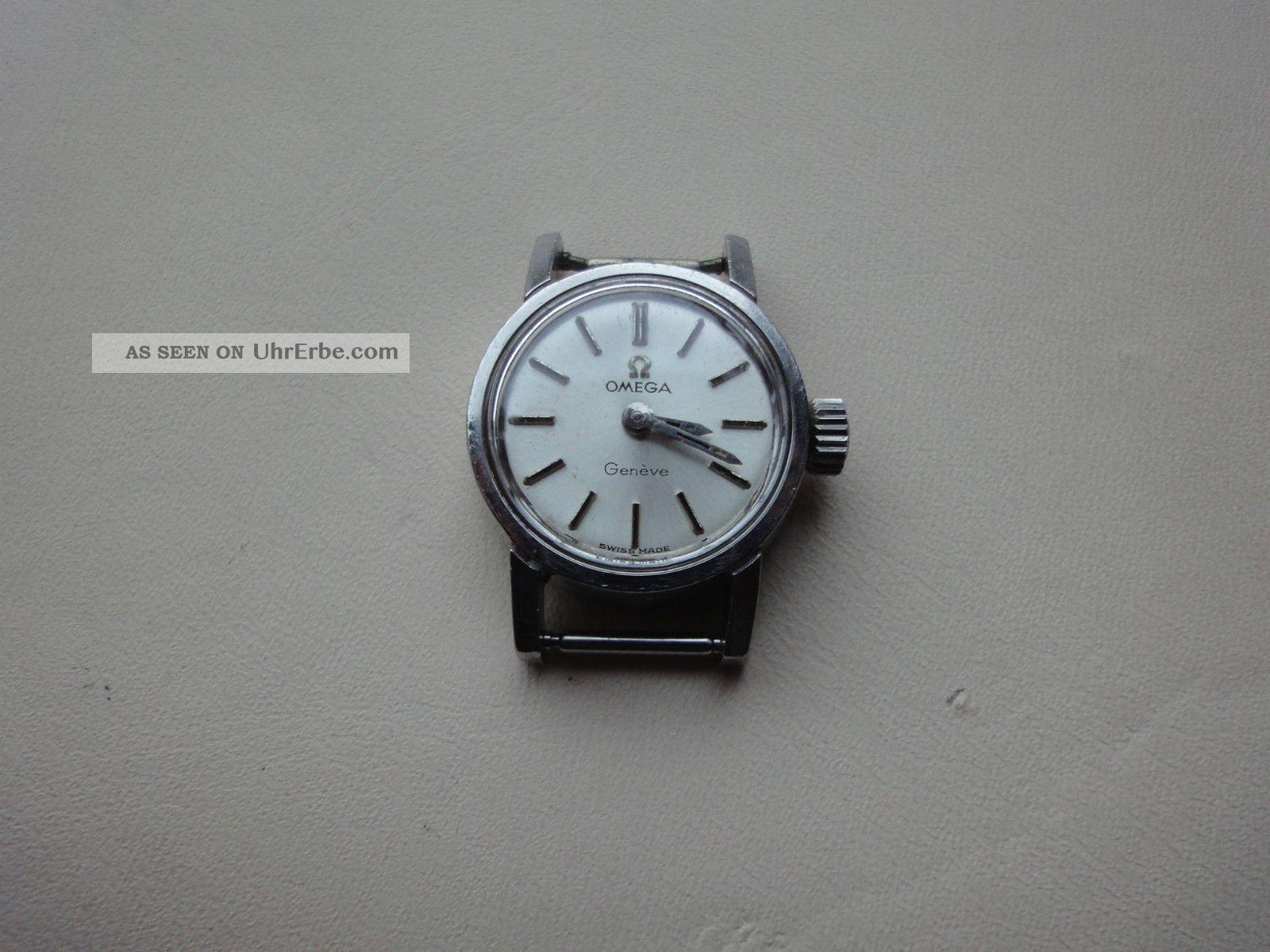Damen Uhr Omega Genéve. Armbanduhren Bild