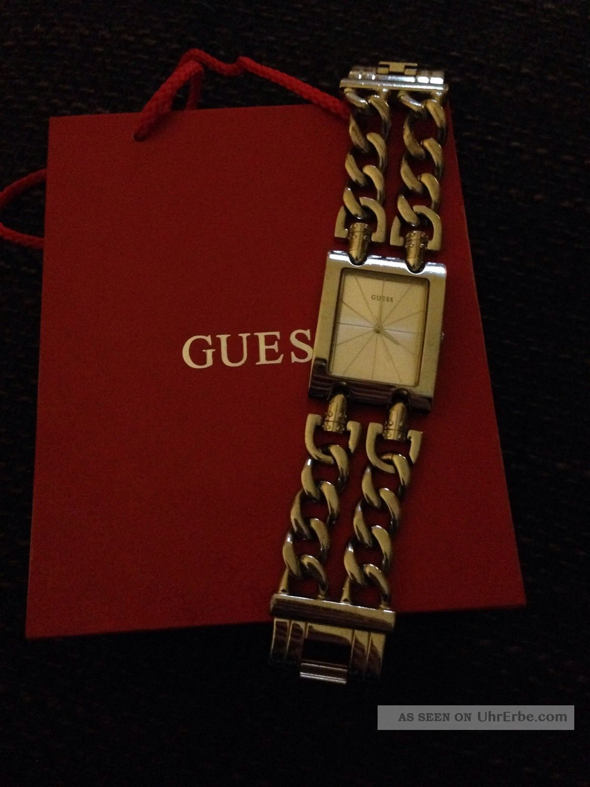 Guess Damenuhr Heavy Metal Armbanduhren Bild