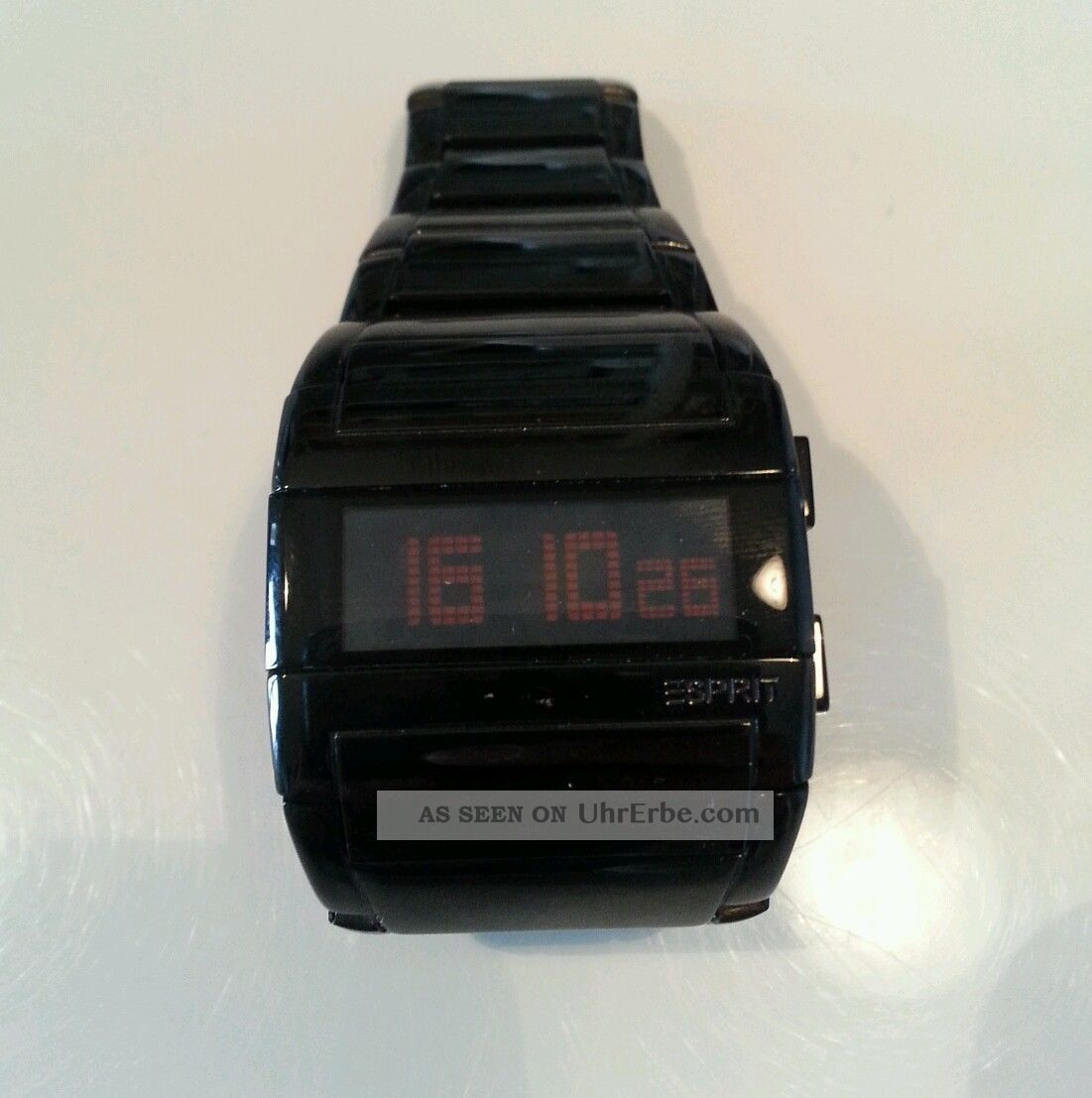 Esprit Es102042002 Bash Night Damen - Uhr Herrenuhr Edelstahl Digital Schwarz Armbanduhren Bild