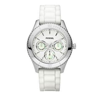 Fossil Es Es2888 Armbanduhr Für Damen Weiß Bild